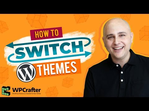 How To Change WordPress Themes -  Switch Without Destroying Your Website thumbnail
