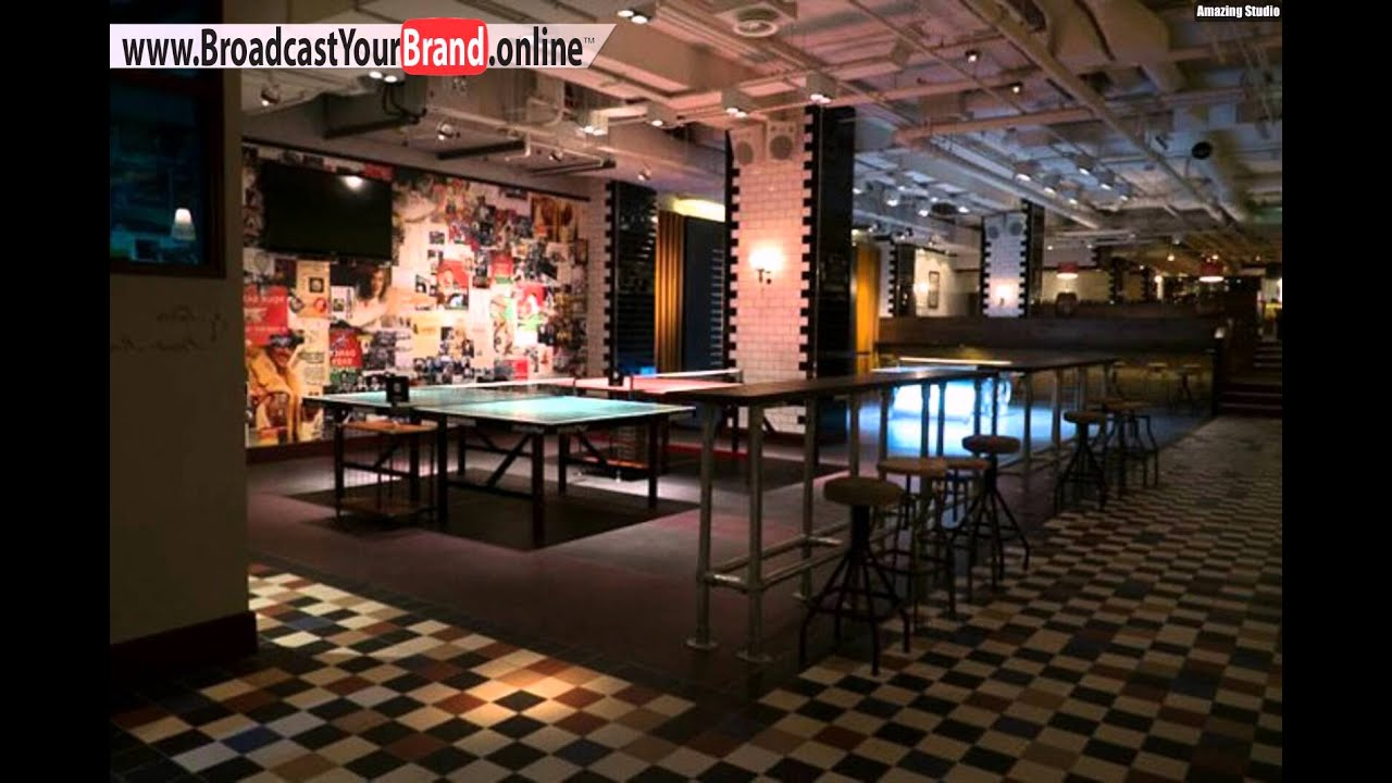 London Ping Pong Bar Spiele Bounce Lokal Leckere Küche - YouTube