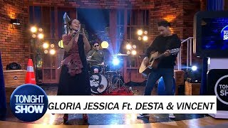 Jamming Session I IRIS - Gloria Jessic Ft.  Vincent & Desta