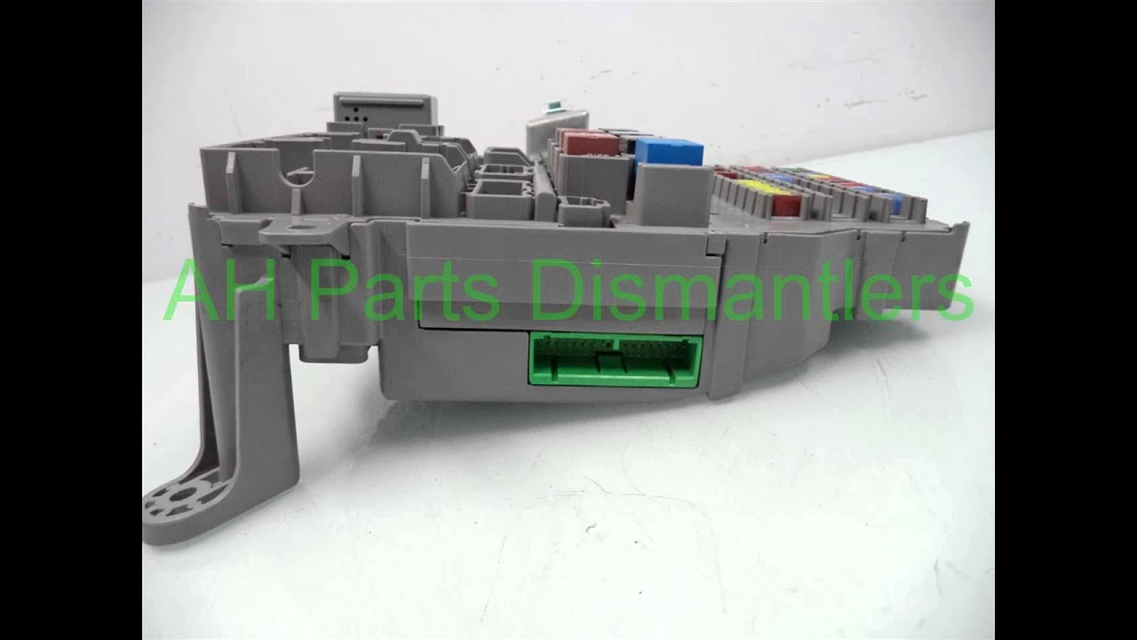 2005 Honda Accord Dash Fuse Box 38200 Sda A01 Ahpartscom Used 2007 Location Acura Lexus Toyota Oem