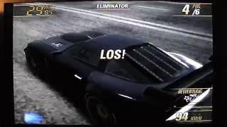 Burnout Revenge - Crashbreaker Eliminator (Reverse) in White Mountain (German) PS2 HD