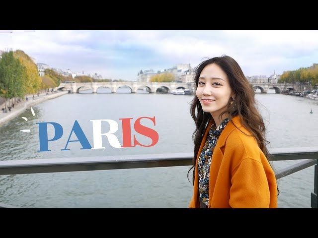 온갖 쇼핑과 미슐랭의 도시! 파리 산책 함께 해요~! 🇫🇷 Paris Vlog 2017