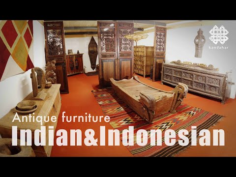 """Antique Indian and Indonesian furniture from the """"Kandahar"""" collection - kandahar.it"""