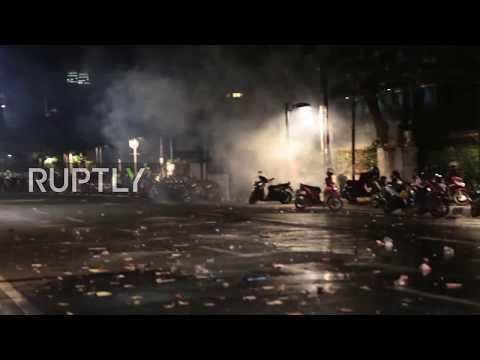 Indonesia: Riot follows anti-communist protest in Jakarta