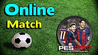 [PES 2017] My First Online Match