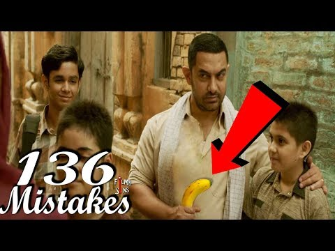 (136 Mistakes) In Dangal - Plenty Mistakes In Dangal Full movie - Amir Khan thumbnail