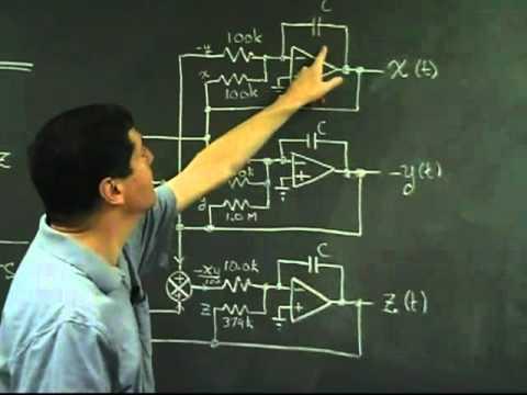Lorenz Attractor - Physics 123 demo with Paul Horowitz