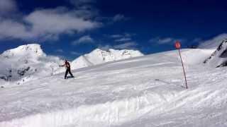 Esquiando no te fies de un amigo