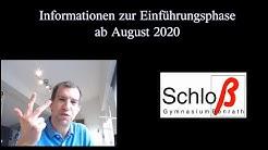 Wahl der Fächer für die gymn. Oberstufe (NRW) - Stand 2020