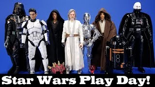 Star Wars Play Day! Customs, 3D Prints, Third Party and Official Items for a 6-inch Display 03/18/19