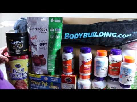 Unboxing Vegan Bodybuilding Supplements – Product order from Bodybuildingcom  Review