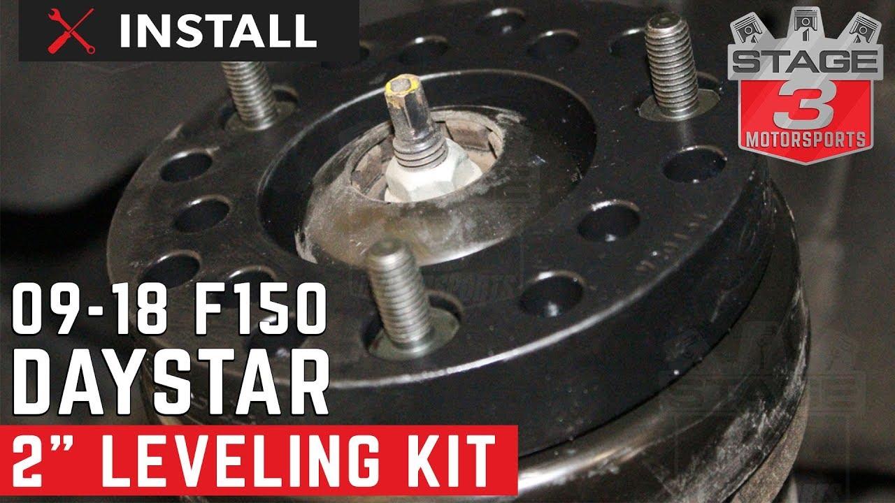 2009 2013 ford f 150 daystar 2 leveling kit installation
