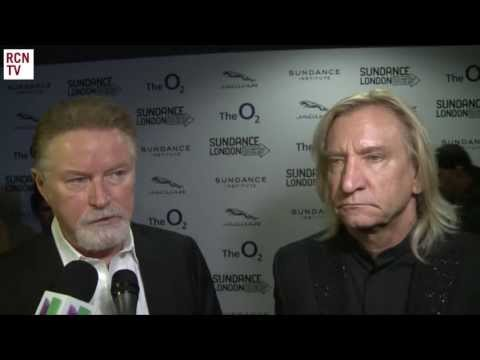 The Eagles Don Henley & Joe Walsh Interview Sundance London 2013