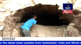 Tunnel found near Charminar in Old City of Hyderabad | Old City Hyderabad News