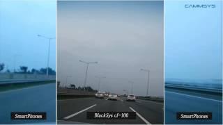 BlackSys CF-100 GPS 2CH двухкамерный видеорегистратор с SONY Exmor sensor(Сравнение видео BlackSys CF-100 с другими производителями. Оптика от SONY., 2013-12-07T20:37:57.000Z)