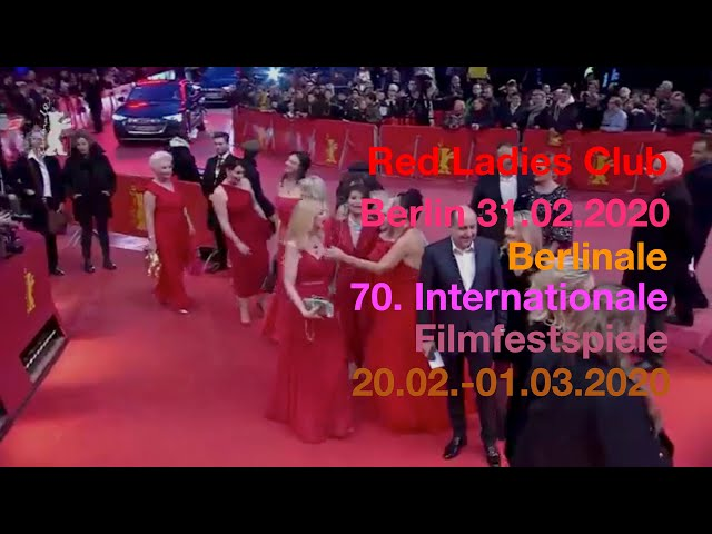 Red Ladies Club at the 70.th Berlinale