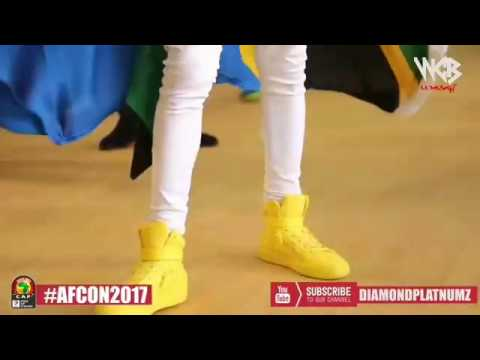 Diamond platnumz & mohombi - in Gabon live show