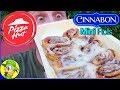 Pizza Hut® | Cinnabon® Mini Rolls | Food Review! 🍕🌀😛