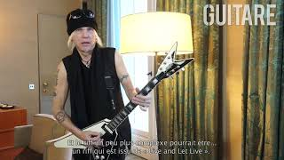Guitare Xtreme Magazine # 84 - A guitar lesson with Michael Schenker