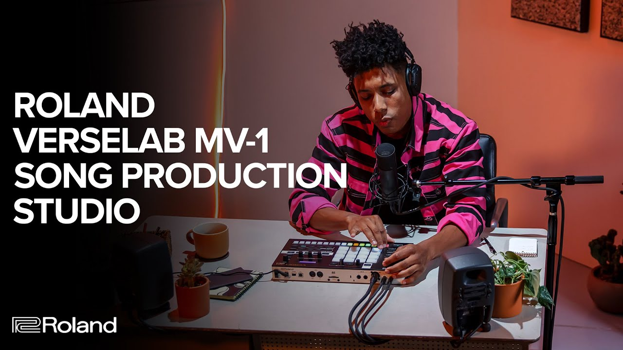 Download Make a Song in Under 10 Minutes with the Roland VERSELAB MV-1 Song Production Studio