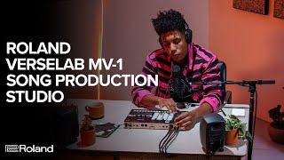 Make a Song in Under 10 Minutes with the Roland VERSELAB MV-1 Song Production Studio