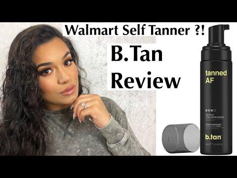 B.Tan - WALMART-  Self Tanner Review - SUPER Affordable
