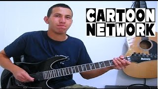 Repeat youtube video Cartoon Network Guitar Medley