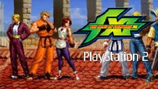 The King of Fighters XI playthrough (PS2)