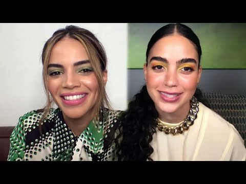 In the Heights' Leslie Grace and Melissa Barrera FREAK OUT Over Famous Co-Stars (Exclusive)