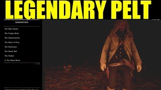 Red Dead Redemption 2 - What to do with Legendary Pelt - How To sell legendary pelt