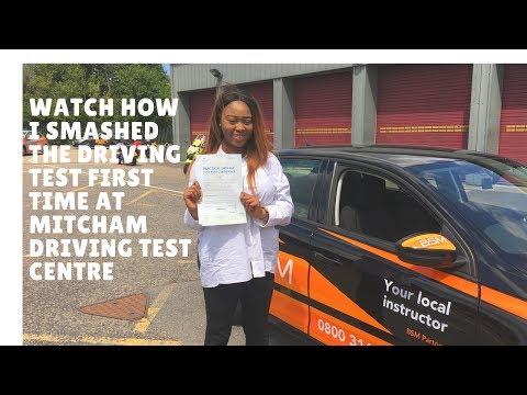 Mitcham Driving Test Route 15th June  2017  (FJ Test)