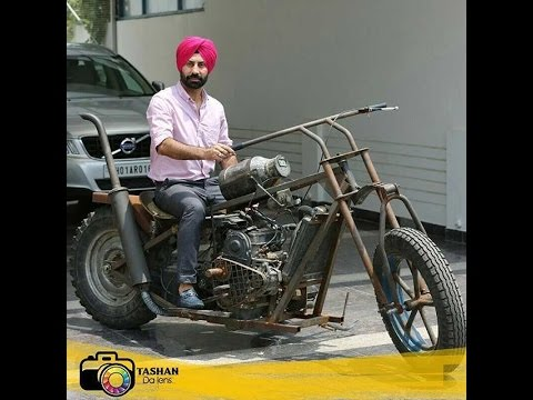 Bambukat Bike made from Scrap