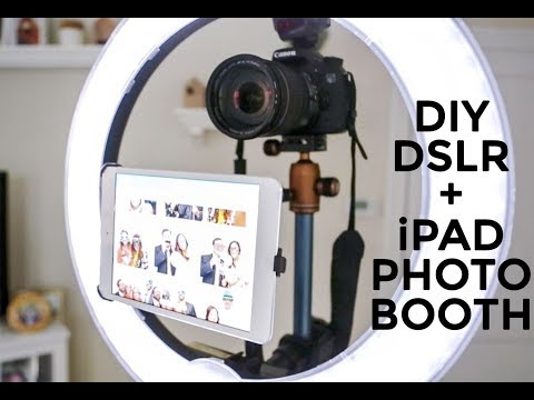 DIY Professional iPAD + DSLR Photo Booth