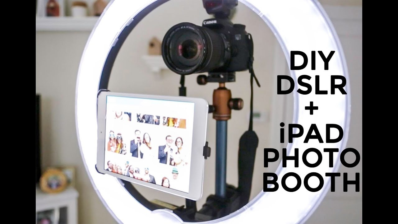 Diy Professional Ipad Dslr Photo Booth Youtube