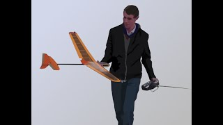 Home Built Discus Launch Glider  -  Mini-q