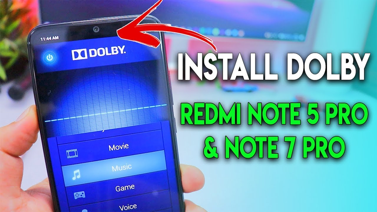 install dolby on redmi note 5 pro \u0026 note 7 pro miui 10 pie