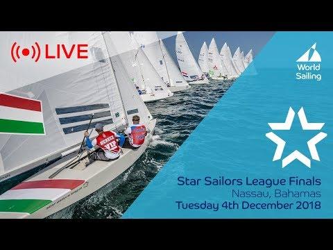 LIVE Sailing | Star Sailors League Finals | Nassau, Bahamas | Tuesday 4 December 2018