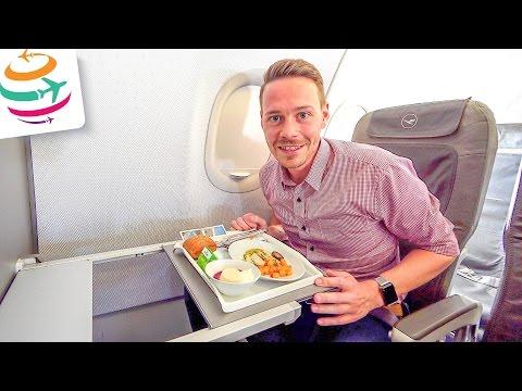 Lufthansa Business Class A319 HAJ-MUC | YourTravel.TV
