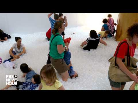 There's a giant ball pit 'beach' in the middle of DC
