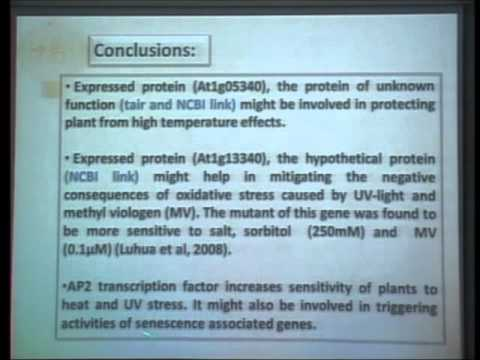 The Pears Webinar in Plant Sciences - Mr. Janak Raj Joshi