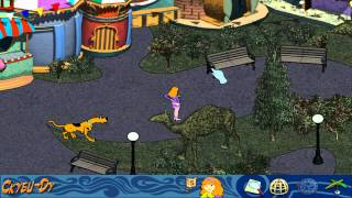 scooby doo mystery of the fun park phantom walkthougt russian