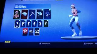 Rare Fortnite Nog ops and Code name E.L.F skin with others