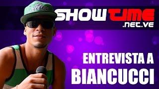 BIancucci entrevistado por SHOWTIME