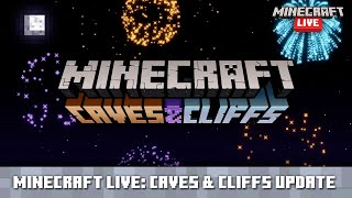 Minecraft Live: Caves & Cliffs - First Look