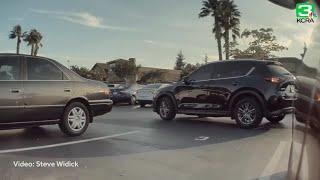 SURVEILLANCE VIDEO: Thieves break into Tesla in Fairlfield