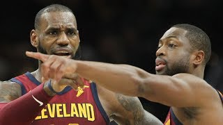 LeBron James on Dwayne Wade's play, 'It's been working' for Cavs
