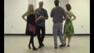 Contra Dance Basics 3 - Four Dancers or Hands Four - CCD