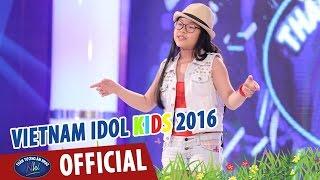 vietnam idol kids - than tuong am nhac nhi 2016 - girl on fire