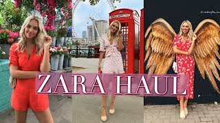 ZARA HAUL AND TRY ON | JUNE 2018