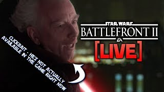 ⚡BATTLEFRONT 2 LIVE - He Was Too Dangerous To Be Kept Alive
